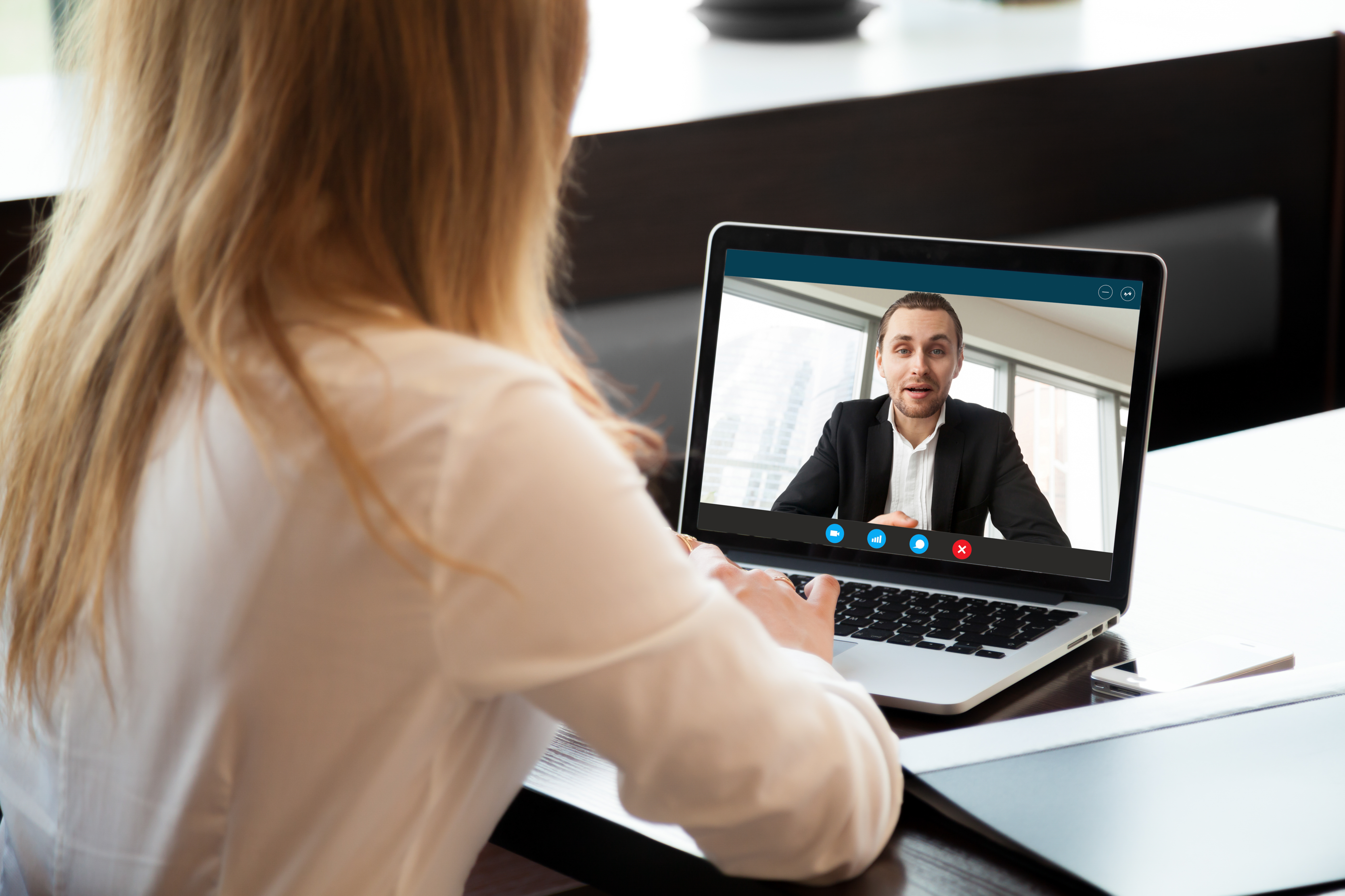 Video chat professional computer